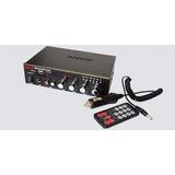 Amplificador Mp3 Sd Aux 12v Control Remoto Avi-126u Winners