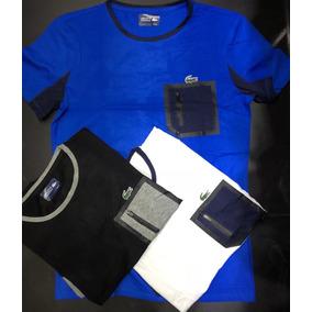 Lacoste 3d Cor Principal índigo - Camisetas no Mercado Livre Brasil 5693c8fde8