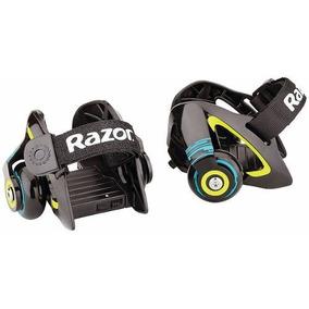 Patines Razor Jetts Heel Wheels Con Sacachispas - Verde