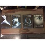 Triología De Libros Cincuenta Sombras De Grey