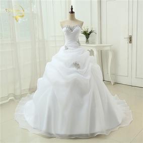 Vestido De Noiva Tomara Q Caia Longo Princesa Renda