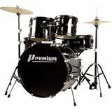 Bateria Acústica Premium Dx722 Black Preto Promoção!