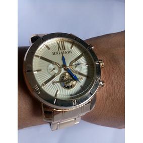6a00e4e25e6 Relogio Bulgari Dourado Sotirio - Joias e Relógios no Mercado Livre ...