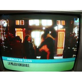Tv 14 Color Panavox El Portatil De La Casa Impecable $120