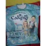 Camisa Banda Calypso Gravação Dvd 15 Anos