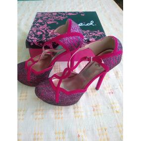 Zapatos Altos De Dama