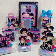 Kit Personalizados Bts - 30 Itens