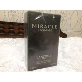Perfume Miracle Homme Vintage Lancome 100ml Lacrado Raridade