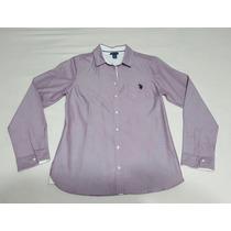 Camisa Social U.s. Polo Feminina