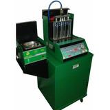 Maquina De Limpieza Y Prueba De 8 Inyectores