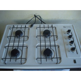Tope De Cocina A Gas Para Empotrar 4 Hornillas