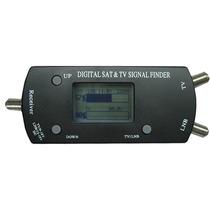 Localizador Satélite Digital Finder Com Tela Lcd Até 2150mhz