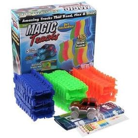Magic Tracks, 2 Autos Leds Con + Potencia, 220 Piezas