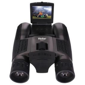 Binóculo Com Câmera Digital E Ampliação 16x Digicam Vivitar