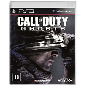 Call Of Duty Ghost Ps3 Novo Original Lacrado Mídia Física