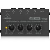 Behringer Ha400 Amplificador Ultra Compacto P/audifonos