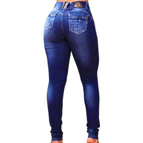 Calça Jeans Feminina Pitbull C Lycra Pit Bull Levanta Bumbum