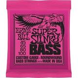 Encordado Cuerdas Bajo Ernie Ball Slinky 045/100 Oferta!!!