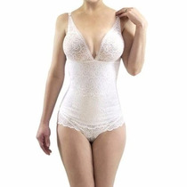 Body Elegance Seduction Confort Faja Talla L Color Blanco