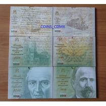 Monedas 5 Pesos Bicentenario & Centenario Blister Primo S/p