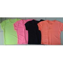 Blusas Feminina Camiseta Kit4 Babylook Roupa Academia Dryfit