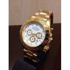 Relógio Daytona Gold White