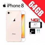 Iphone 8 64gb 4k Nuevo!! Gta Apple! Córdoba. 4g 4k! Dorado