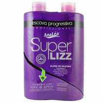 Escova Progressiva Super Lizz Analéa (2x500ml)