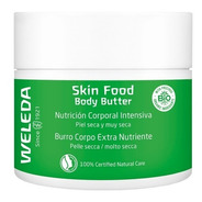 Skin Food Body Butter  Weleda Veganos Nutrición Corporal
