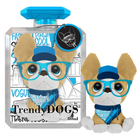 Trendy Dogs Alex Peluche Perro Perfumado Con Anteojos Intek