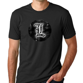 Camisetas Camisas Anime Death Note Caderno Morte Estampa 06