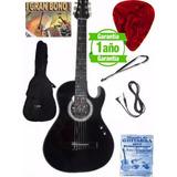 Guitarra Electroacustica Cable Forro Pua Metodo Bono Clases