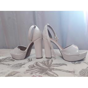 db0e3bc39 Peep Toe Via Marte Noiva - Sapatos no Mercado Livre Brasil