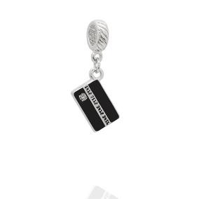Berloque Cartão De Crédito Esmaltado