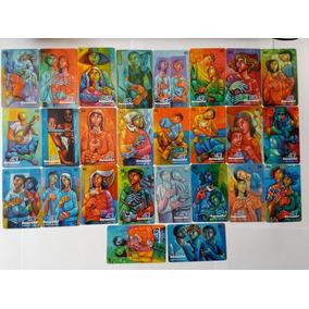 Serie Completa Artista Sarro Usados Sercomtel Frete Gratis