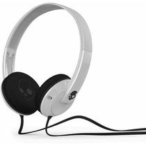 Audífono Skullcandy Uprock Headphones With Mic White/black/