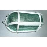 Vapoleta Tipo Morrocoy 60w-110v-blanca Base Plastica