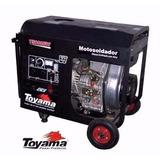 Motosoldador Diesel Toyama T5000ew 160amp 10 Hp Mod