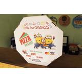 Caixa De Pizza Personalizada 20cm!!