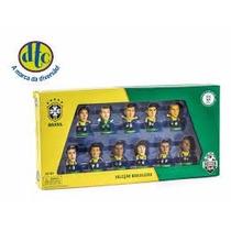 Minicraques Neymar E Cia Seleção Brasileira Dtc