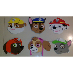 Paw Patrol Patrulla De Cachorros Figuras Fomi Chase Foami