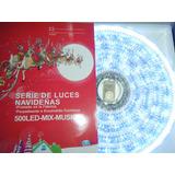 Serie Navideña Musical De 200 Led Azul Oferta Navideña