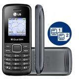 Celular Lg B220 Desbloqueado Dual Sim Original Rural Rádio