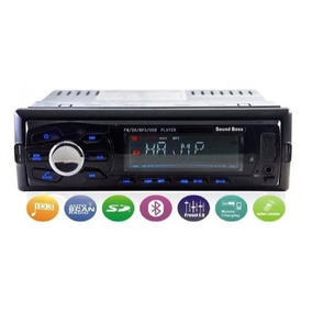 Stereo Auto Bluetooth Usb Micro Sd Pendrive Estereo Radio
