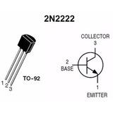 Transistores 2n2222 Transistor Arduino Pcb Protoboard