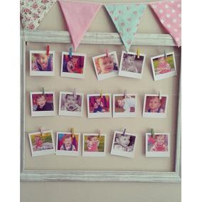 Cuadro Con Fotos Polaroid