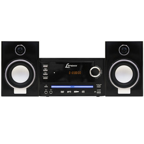Micro System Lenoxx Md270 25w Rms Dvd Player Karaokê Mp3