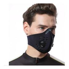 Mascara Antipolucion Tapa Bocas Moto Bicicleta Carbón Activa
