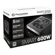 Fuente Pc Thermaltake Smart White 600 Watts 80 Plus Gamer