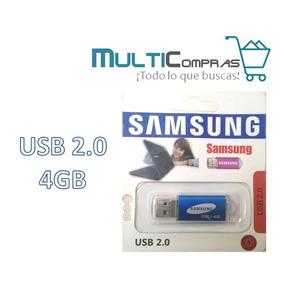 Pendrive Samsung Metálico 4gb Usb2.0 En Blister
